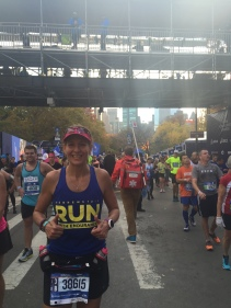 I did that! TCS New York Marathon Finisher!