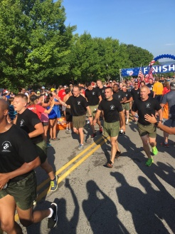 The Marines finishing strong!
